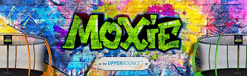 Moxie Trampolines by Upper Bounce - Outdoor Trampolines for Kids