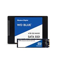Amazon com: WD Blue 3D NAND 4TB Internal PC SSD - SATA III 6