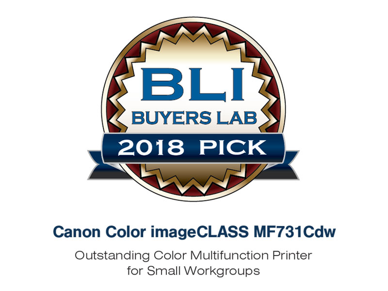 Canon Color imageCLASS MF731Cdw - Multifunction, Wireless, Duplex Laser Printer (Comes with 3 Year Limited Warranty), Amazon Dash Replenishment ...