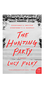 Hunting party, friends, murder, trip, mystery, adventure, suspense,