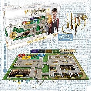 Pressman Harry Potter Animales Fantásticos Juego de Mesa ...