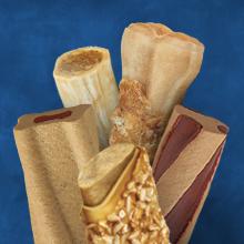 Assortment of Busy chew treat varieties