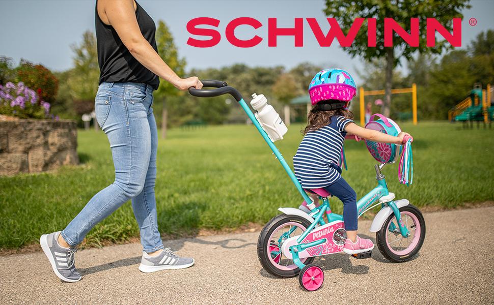 Petunia Steerable Kids Bike Teal