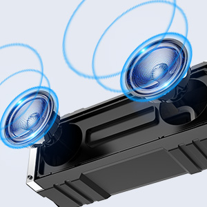 Bluetooth високоговорител VTIN Punker