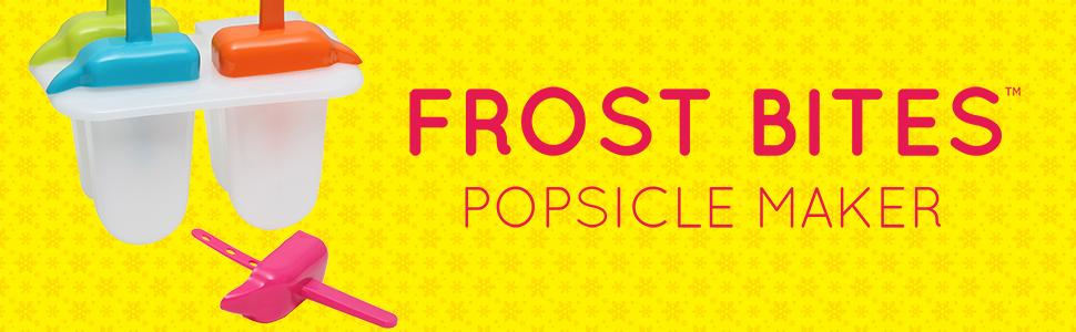 Frost Bites 4-Mold Popsicle Maker by VICTORIO VKP1098