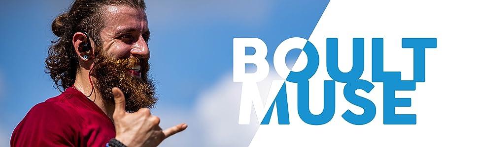 Boult Muse,Boult Audio,Wireless Earphones,Sporty Fit,Waterproof, Pro- Acoustics,Bluetooth Earphone