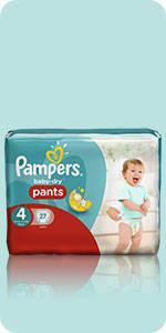 Pampers Baby-Dry Höschenwindeln