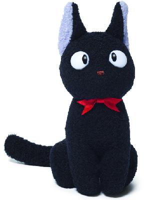 "GUND Kiki's Delivery Service Jiji Cat Stuffed Animal Plush, Black, 6"""