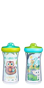 The First Years Insulated Sippy Cups