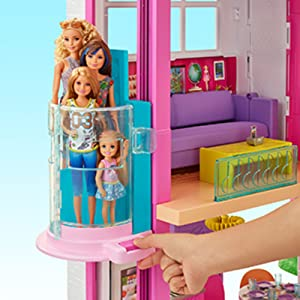 interactive doll house