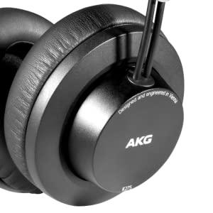 AKG K245 Casque de studio ferm/é circum-aural l/éger et pliant