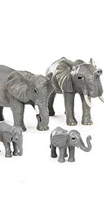 Elephant Piercing Up 500kg Buffalo
