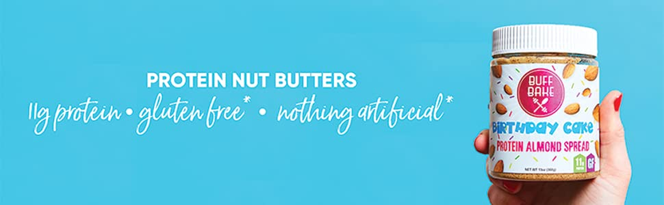 Buff Bake Protein Almond Butter Snickerdoodle 368g Amazonca