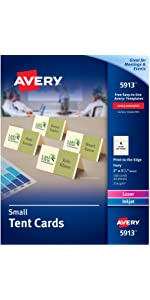 Avery Printable Half-Fold Greeting Cards, 5 5 x 8 5 Inches, Inkjet  Printers, 30 Blank Cards (3378)