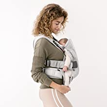 Babybjorn Baby Carrier One Air 3d Mesh Black 2018 Edition