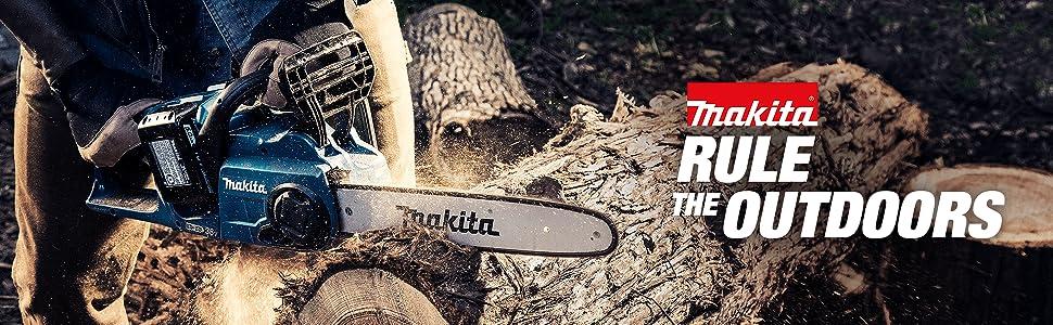 saw; motoraxe; MAX XR; FLEXVOLT; log; tree; forestry; wood