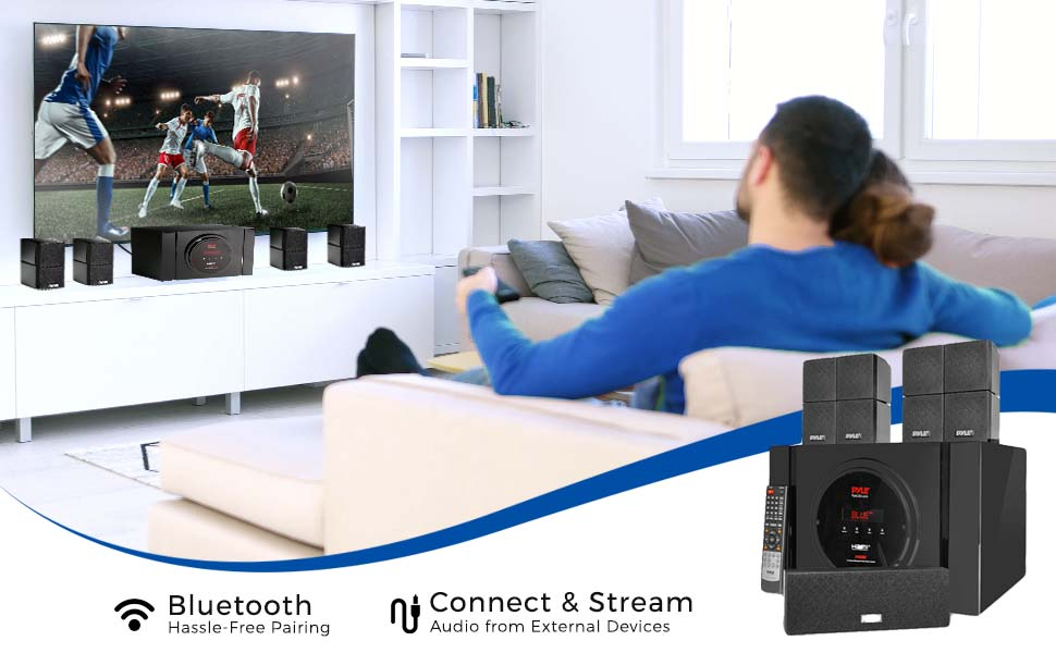 Home Theater Speaker, Home Theater Audio system, Home Theater Speaker System, Speaker, Pyle Speaker