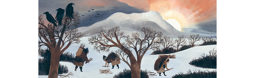 winter; winter stories; holiday books; picture books; gift books; solstice; carson ellis