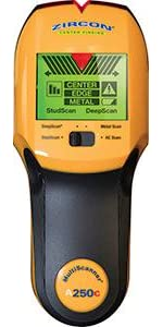 msA250c, A250c, stud, edge, center, act, deepscan, ac scanner, wirewarning, metal, multiscanner, stu