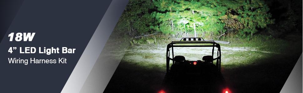 LED Light Bar Wiring Harness Kit Nilight
