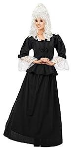 Women's Martha Washington Colonial Woman Costume