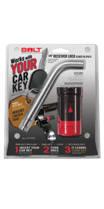 """Ford 5/8"""" Receiver Lock"""