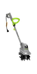 earthwise clean efficient corded tiller cultivator garden lawn yard dirt grass landscape house home