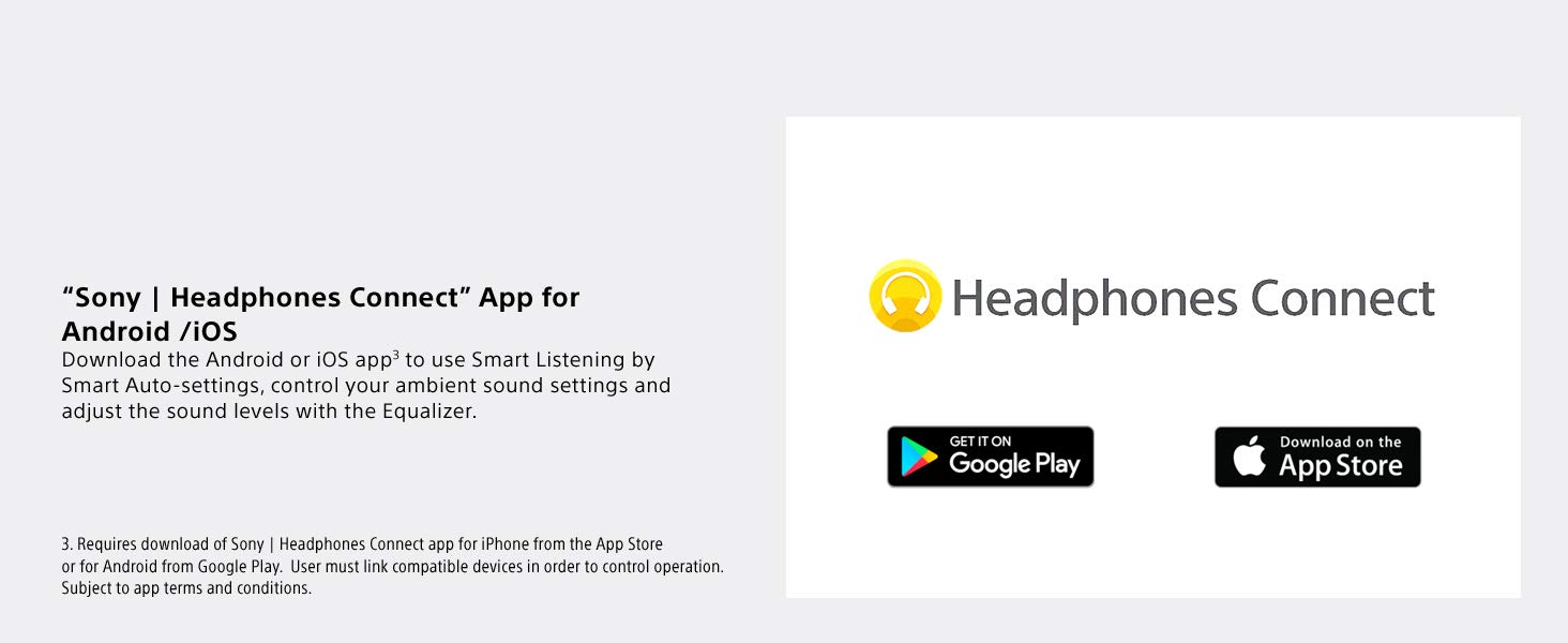 Sony | Headphones Connect App for Android/iOS