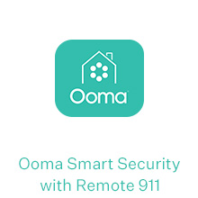 Ooma Smart Security with remote 911