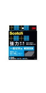 3M スコッチ 強力両面テープ 一般材料用 20mm×10m PKH-20