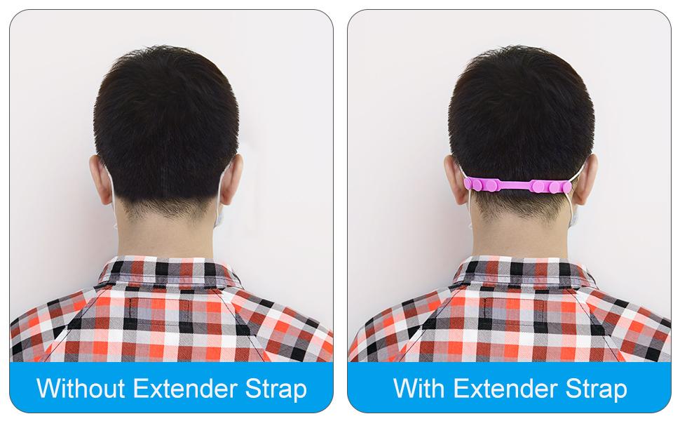 mask extender strap