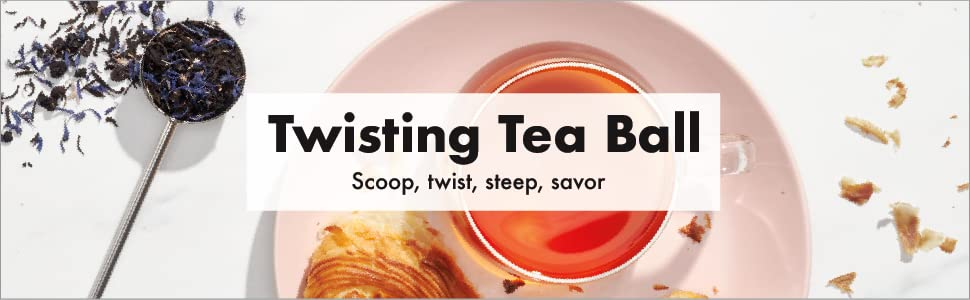 OXO BREW Twisting Tea Ball