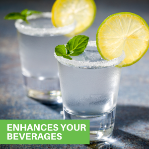 These crystal glass drinking glasses are specially designed to showcase flavors and rich aromas.