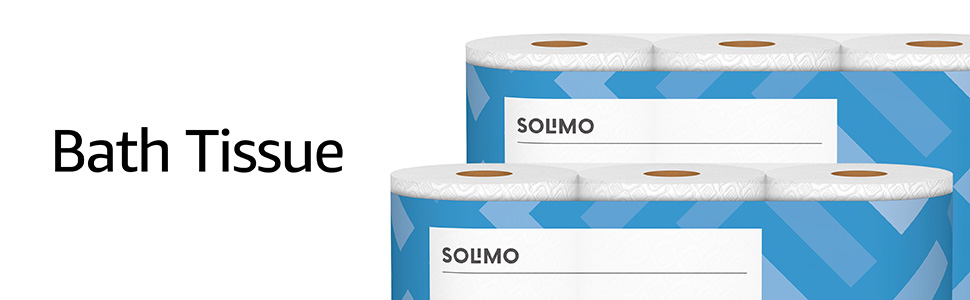 Solimo Toilet Paper