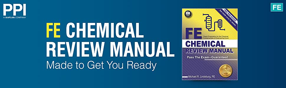 FE Chemical Review Manual Made to Get You Ready