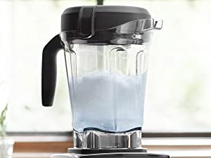 5300 64-ounce container self-cleaning