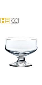 グラス ガラス コップ ステム コーヒー珈琲 アイス カフェ 食洗機 割れにくい われにくい ジュース デザート パフェ アイスクリーム