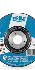 S/&R 25x Ultra Thin Metal Cutting Discs 115 * 1,0mm for Angle Grinder Stainless Steel 1mm Thin for Inox Steel A60 S-BF