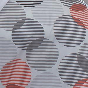 orange comforter; orange duvet; striped comforter; striped duvet; cotton comforter; cotton duvet