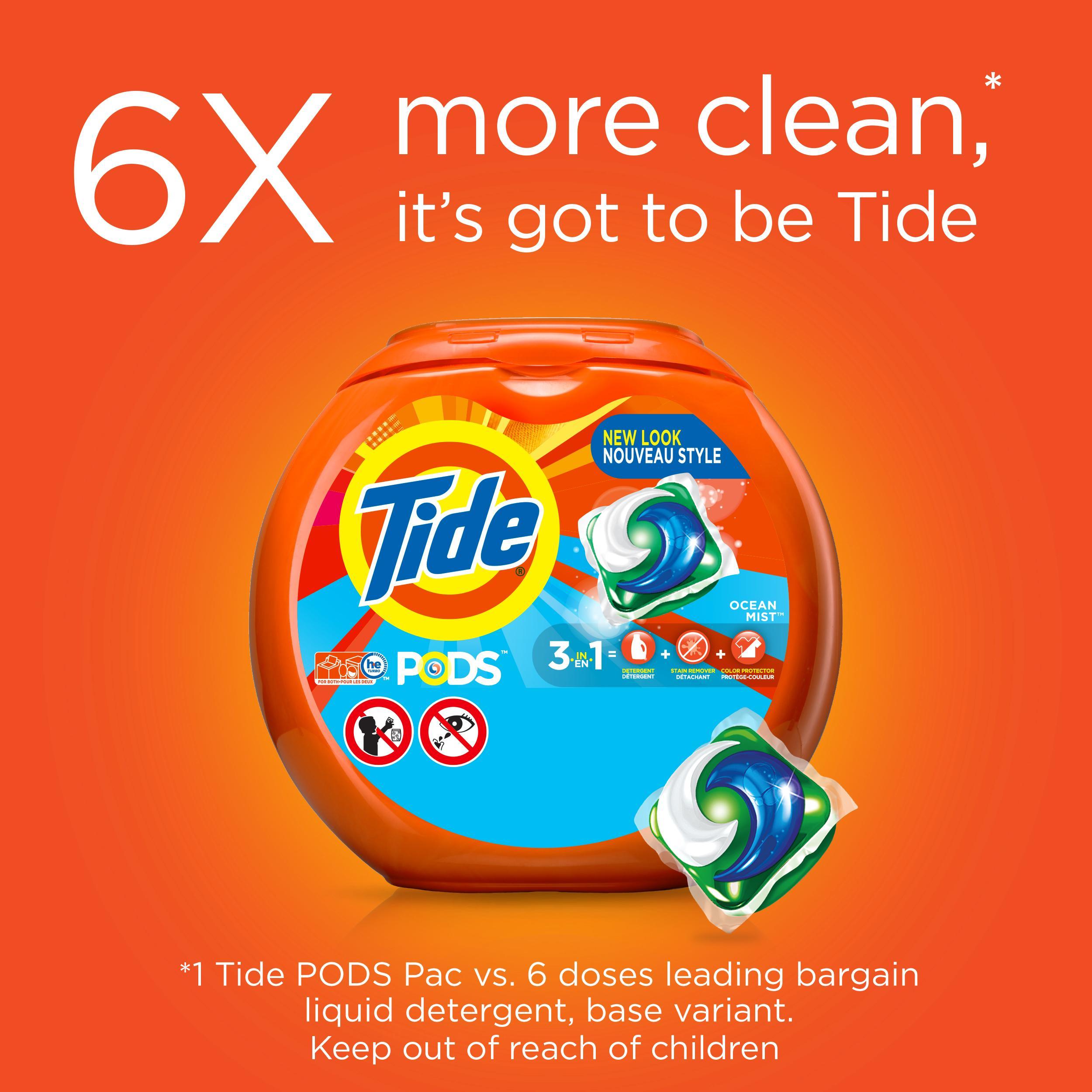 Amazon Com Tide Pods Ocean Mist Scent He Turbo Laundry