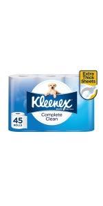 kleenex, toilet tissues, tissues, toilet paper, toilet roll packs, toilet tissue