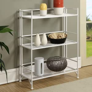 stand alone kitchen storage convenience concepts 5 tier folding metal 5749