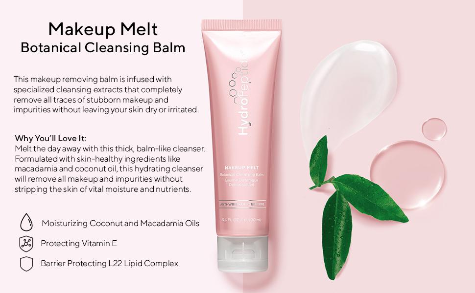 HydroPeptide Makeup Melt Botanical Cleansing Balm