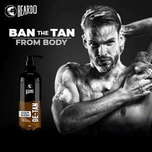 de-tan body wash,beardo bodywash