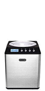 ICM-201SB Whynter 2.1 Quart Upright Ice Cream Maker with Stainless Steel Bowl