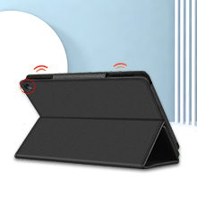 New Fire hd 8 10th generation leather cover accessories 8 inch display protective stand