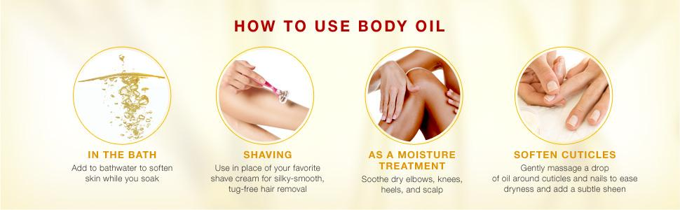 NEUTROGENA - How to use Body Oil