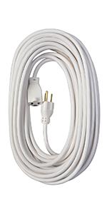 white extension cord