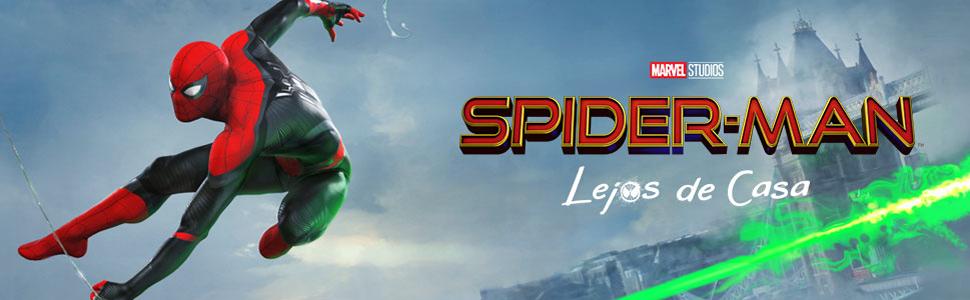 spiderman; spider-man; lejos; de; casa; regreso