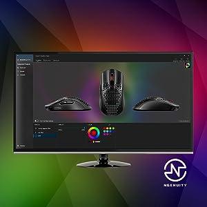 Mouse para gaming liviano, mouse para gaming, nouse óptico, mouse para videojuegos en pc negro